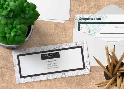 Florentina | chèque cadeau en ligne
